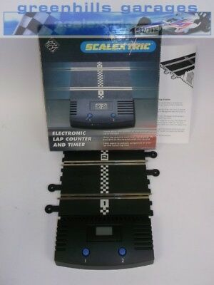 Greenhills Scalextric Boxed Electronic Lap Counter & Timer C8045 - Used - MT4...