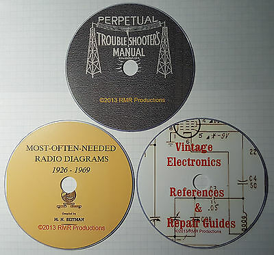 Rider's / Beitman's Radio Schematics & Repair Guides 50,000 + pages 20% off !!