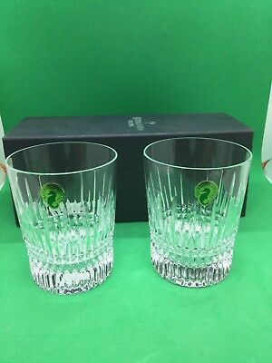 Waterford Crystal Lismore Diamond Tumbler(s) Pair (2) 156729 New In Box