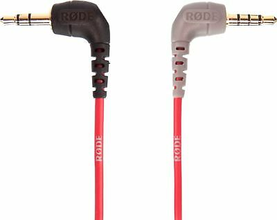 RODE - 0.55' 3.5mm TRS to TRRS Patch Cable - Red