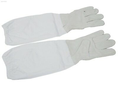 Beekeeping Gloves Long Sleeves Guard Bee Keeping Gloves Equipment Tools 12B02C5