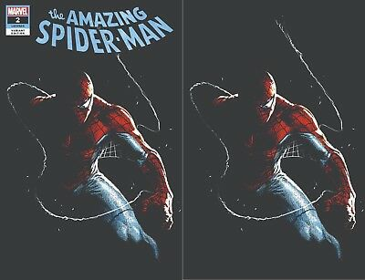 Amazing Spiderman 2 2018 Gabrielle Dell Otto Comicxposure Virgin Variant Set Nm