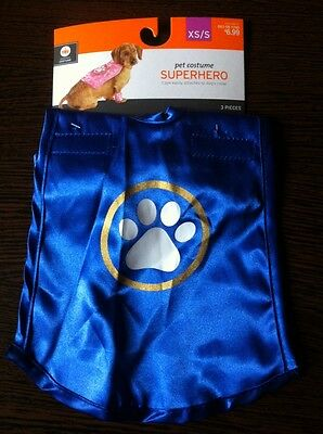 Superhero,Hundekostüm XS/S;Halloween,Dog,Pet;Fancy Dress