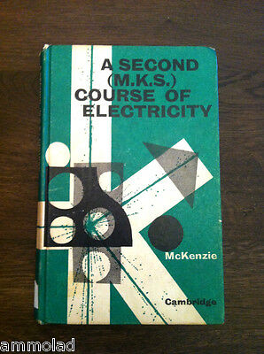 Rare Vintage Retro Original 1968 Book Second Course Electricity Atomic Nuclear