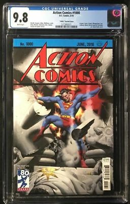 Action Comics #1000 1930s variant - CGC 9.8 - Steve Rude cover