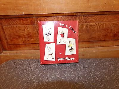 Vintage Toe to Crown in Buster Brown Sock Box Great Graphics