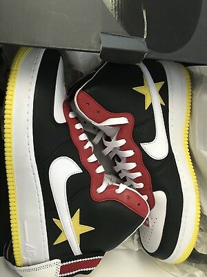 All Red NikeID Air Force One 1 Triple Red AH6512 991 For Sale