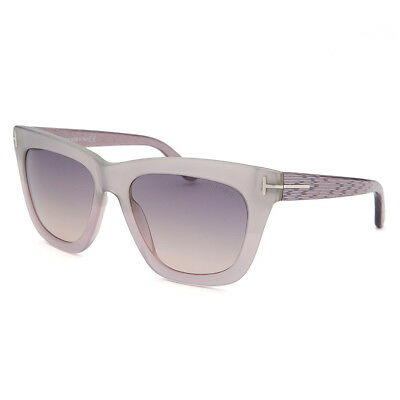0cbac53c3be Tom Ford Womens Celina TF361 Lilac Frame Square Sunglasses Brown Gradient  Lens