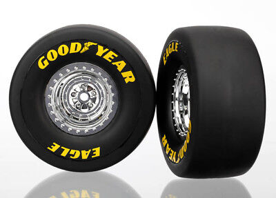 Traxxas Funny Car Mounted Rear Tires 6973 TRA6973