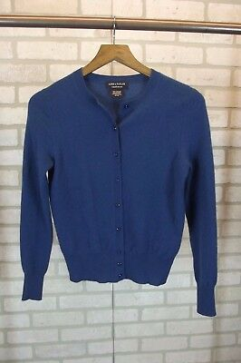 Lord Taylor Sweater Womens Small S Blue Knit 2500 Picclick