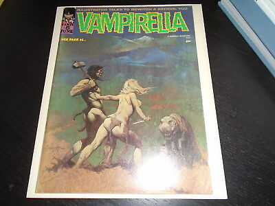 VAMPIRELLA #5  Warren Magazine VF 1970