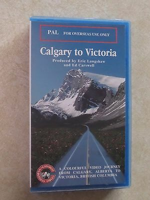 'Calgary to Victoria' VHS Video Cassette PAL Format
