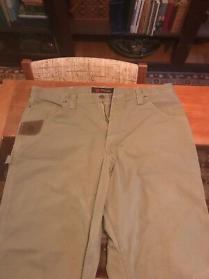 wrangler riggs workwear relaxed rip stop carpenter work jeans nwt