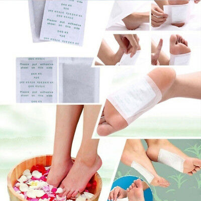 2Pcs Detox Foot Pads Adhesive Patch Detoxify Toxins Keeping Fit Health Care