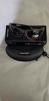 adf0eee0339 Tsafrer Polarized Sports Sunglasses with Interchangeable Lenses New in Box