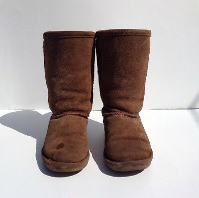 75971438 BEARPAW EMMA TALL GIRLS/YOUTH BOOTS SIZE 13Y Fall /Winter