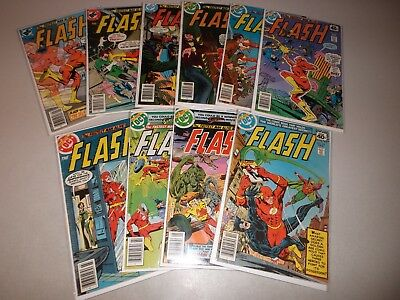 Flash #268-277 (Complete lot of 10) Bronze Age 269 270 271 272 273 274 275 276