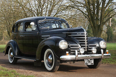 1939 Plymouth Touring Sedan VERY RARE RHD US Navy/Army/Air Force Staff Car