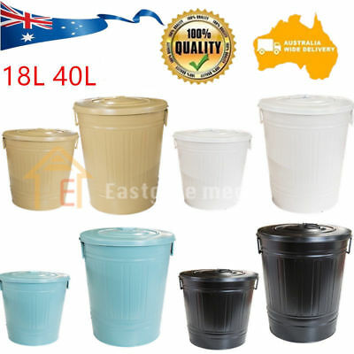 Home Bin Waste Compost Food Garden Recycling Tumbler Scrap Trash 18/40L