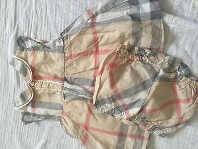 Burberry baby dress Andy knickers