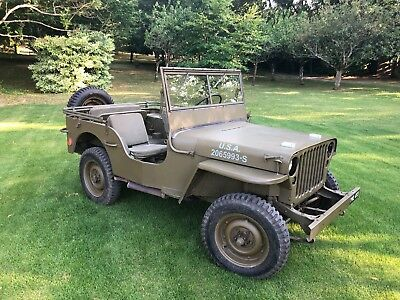 Ford Gpw Willy's Jeep 1942