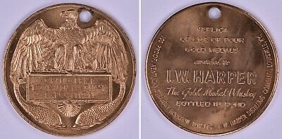 1904 Token Medal St Louis Worlds Fair Louisiana Purchase Exposition H-61-120 Usa