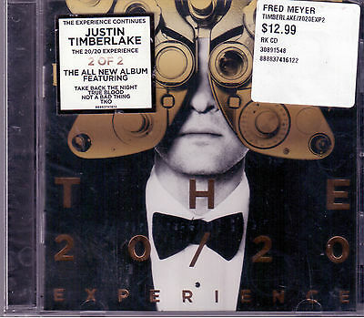Justin Timberlake ‎– The 20/20 Experience (2 Of 2)  Cd Sigillato