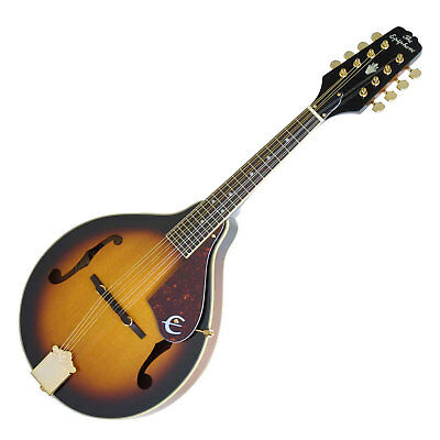 Traditionelle Epiphone Mandoline in klassischer A-Form in Antique Sunburst Gloss