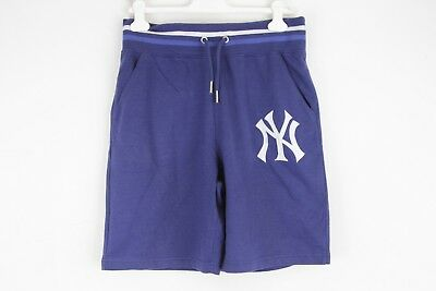 MAJESTIC ATHLETIC MLB COOPERSTOWN NEW YORK YANKEES L pantaloncini shorts E7497