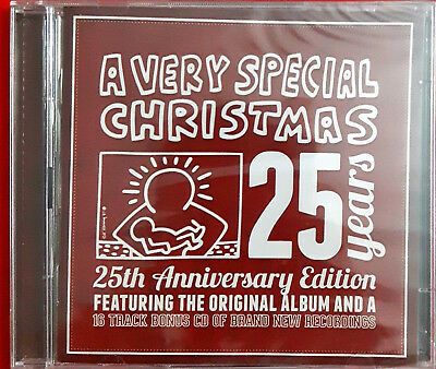 Various ‎– A Very Special Christmas 25 Years (2 Cd)  Sealed Natale