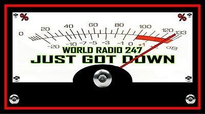 CB RADIO METER CUSTOM Banner Brand New for your Man Cave. ADD you call number.