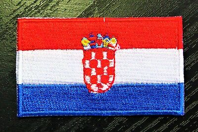 CROATIA Croatian Country Flag Embroidered PATCH Badge *NEW*
