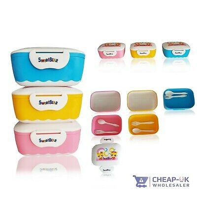 Baby pot box Weaning Food Pots Freezer Storage lunch box Containers BPA Free