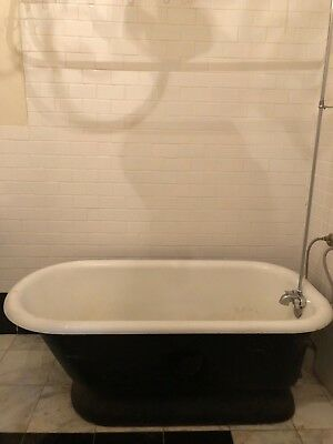 Antique Pedestal Bath Tub Cast Iron for Pick Up