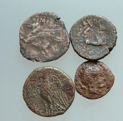 Greek Coin Desert Patina Unsearched Coins & Paper Money