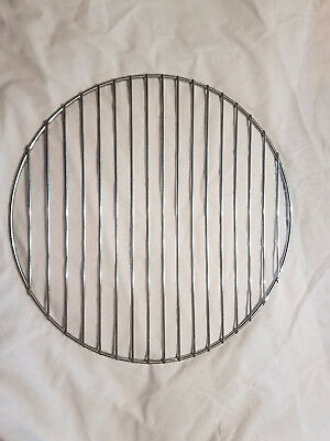 "New Round Grill Grate 15.5"" Brinkmann Vertical Smoker Chrome **free Shipping**"