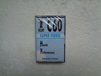 Obscur Vintage Audio Cassette VALMY Super Ferro C60 * Rare From France 1980's *