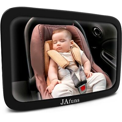 Baby Car Mirror Facing for Backseat 360 Degree Rotation – View Infant in Rear