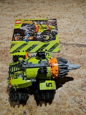 Lego Power Miners Thunder Driller 8960 Used Complete