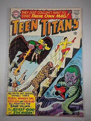 Teen Titans #1 (Jan-Feb 1966, DC) [VG] Classic Teen Titans! Cool!