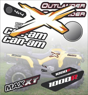 BRP Can-am G2 Outlander 1000 decals kit 2018