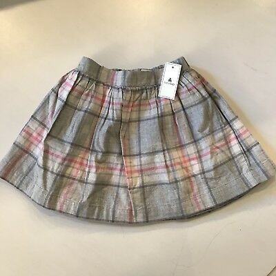 d9785d1f26 TODDLER GIRL BABY Gap Size 2 Years Multi color Stretch Plaid Skirt ...