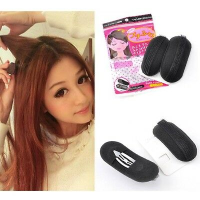 Invisible Hair Puffs Made of Sponge JUST CLIP IT hair boosters