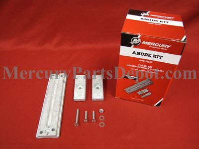 Mercury Marine Older 75-115hp Outboards Anode Kit - Part # 8M0107547