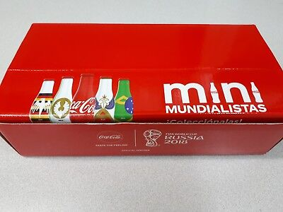 Coca Cola Mini mundialistas Bottle World Cup 2018 FIFA COMPLETE USA seller.