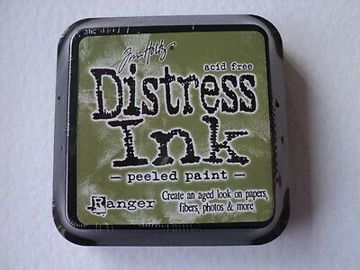 "Tim Holtz Distress Ink Pad Peeled Paint Full Size 2"" Bnip *look*"