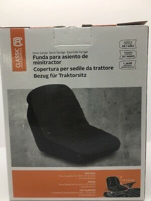 Deluxe Riding Lawn Mower Seat Cover, Medium