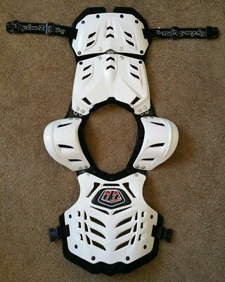 Troy Lee Designs Bodyguard White Chest Protector Adult L/XL