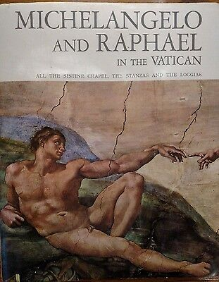 MICHELANGELO & RAPHAEL IN THE VATICAN Special Ed. for Museums & Papal Galleries