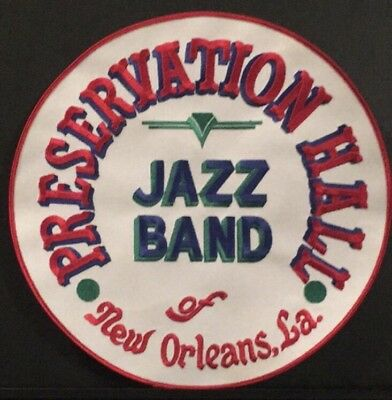 Vintage New Orleans Preservation Hall Jazz Band Patch